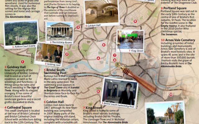 Bristol Movie Maps